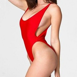 Sexy High Cut Backless Bathing Suit Beachwear One piece Swimwear Uk For Women