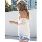 Sexy Shoulderless Beach Cover-up