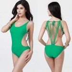 Fashion Sexy New Design One Piece Spandex Fabric Swimwear Uk For Women