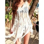 White Crocheted Swimdress