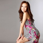 Fashion Floral Print One-piece Swimwear Uk For Women with Bra Pads