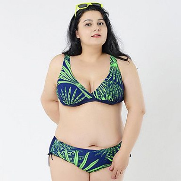 2016 Big Bikini For Fat Plus Size Sexy Bikini Brazilian Biquini Swimsuit Uk For Women Triangl Swimwear Uk For Women Push Up Lady Bikini
