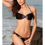 Fashion Sexy Solid Hollow Bikini Set Swimwear Uk For Women Swimsuit Uk For Women