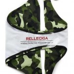 Camouflage Print Halter with Soft Push-up Cups and Front Bow BIKINI