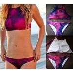 Polyester Print Wireless Multi-Pieces Swimwear Uk For Women with Pad