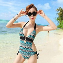 European And American Pierced Sexy Swimsuit Uk For Women