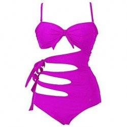 Halter Sexy One Piece Swimwear Uk For Women