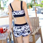 Three-piece Bikini Swimsuit Uk For Women Skirt