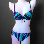 New Design Foshion Swirl Flow Bra Plus Two Piece Bikini Swimsuit Uk For Women