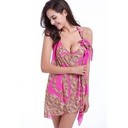 Nylon/Polyester Sexy Print Cover-Ups