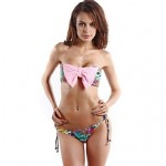 Multiple Color Printing Design Original Fashion Magazine Style Bikinis Suits