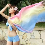 Korean Colorful Gather Bikini Sets(More Colors)