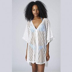Sexy Hollow Lace Beachwear Cover-up