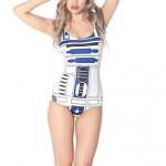 The New Digital Printing One-Piece Bathing Suit