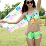Fashion Gather Bikini Sets(More Colors)