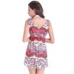 PinkQueen® Nylon/Polyester Sexy Multicolor Print Cover-Ups