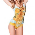 Wireless Floral One-pieces (Spandex)