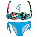 Fashion Sexy Multicolor in a Bikini Bathing Suit