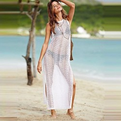 Lace/Polyester Sexy Translucent Thin Cover-Ups