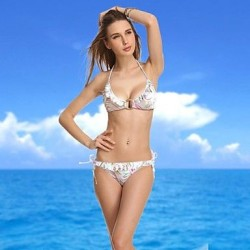 VBM Brand Circle Push-up Swimwear Uk For Women Sexiest Swimming Suit Beachwear