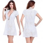 New Style Sexy Swimming Hollow-out Dress
