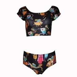 Fashion And Personality Small Animals Printing Swimwear Uk For Women