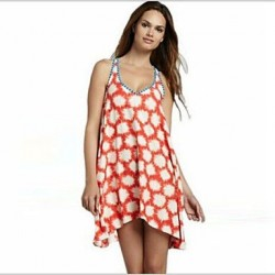Polyester Fashion Sexy Sleeveless Cover-Ups