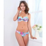 Fashion Sexy Print Push Up Bikini Set Swimwear Uk For Women Swimsuit Uk For Women Biquini Bathing Suit