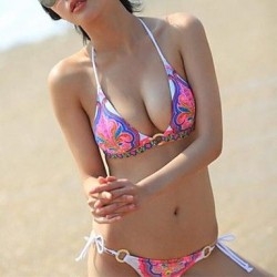 Fashion Sexy Multicolor Retro Print Push Up Beach Wear Bikini Set Swimwear Uk For Women Swimsuit Uk For Women
