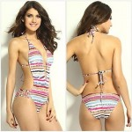 Printed One-Piece Sexy Bikini Swimwear Uk For Women