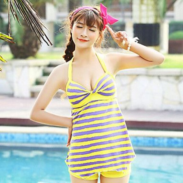Others/Polyester Padded Bras One-pieces