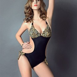 Sexy Printed One-Piece Swimwear Uk For Women