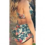 Sexy Color Printing Two Piece Swimwear Uk For Women