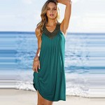 available solid beach dress 2019 high quality cotton beachwear for casual everday wear and beach