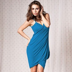 New Arrival Hot Sale swim wear cover up With Polyester Solid beachwear Black Beach Dress swimwear cover up