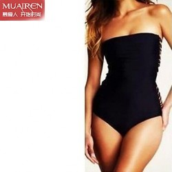 The New ConServative Piece Back Rope SwimSuit Sexy Swimwear Uk For Women