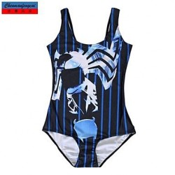 Swimwear Uk For Women Fashion Print Sexy Bodycon One-piece Swimsuit Uk For Women Casual Siamesed Underwear