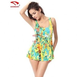 Spandex Push Up Wireless Halter One Pieces Swimming Accessories Cover Ups VS009