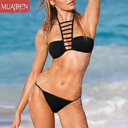 The New Solid Color Sexy Bikini Swimwear Uk For Women