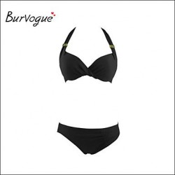 Burvogue Diving Suit Material-neoprene Bikini Set Swimsuit Uk For Women Swimwear Uk For Women