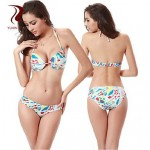 Printed fashion bikini Wholesale hot Sexy Fashion Bandage bikini