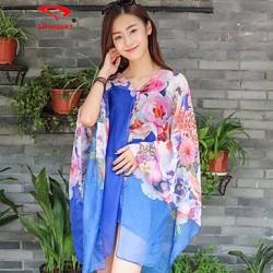 Floral Halter Cover-Ups (Polyester)SM7A07