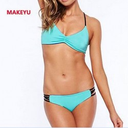 MAKEYU Bind Type Sexy Hollow Out Bikini Swimwear Uk For Women