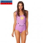 Stretchy Sexy Swimwear Uk For Women Printed Bodycon Jumpsuit Top