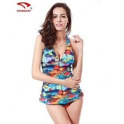 Spandex Padded Bras Tankinis Multi Pieces Swimming Accessories Cover Ups