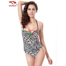Nylon/Spandex Push-up Halter/Straped One-pieces/Swimming Accessories/Cover-Ups VS008B