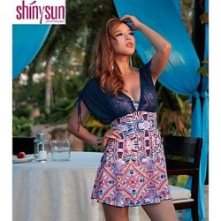 Underwire Bra Color Block/Floral Cover-Ups (Acrylic/Polyester)