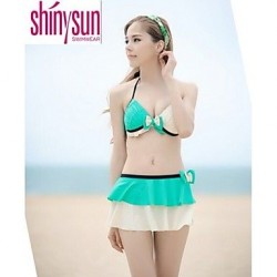 Underwire Bra Solid Straped Multi Pieces Acrylic Polyester