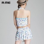 R.ME France 2019 printing Bikini set Sexy Beach Wear Swimwear Uk For Women sandbeach Set printing swimsuit