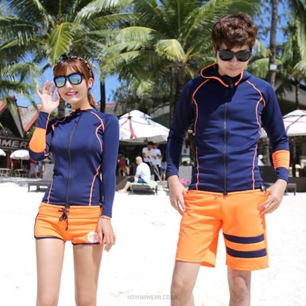 Summer Long Sleeves Diving Suit Man Women Sun Protective Clothing Surfing Swimwear Snorkeling Suit Dive Skin